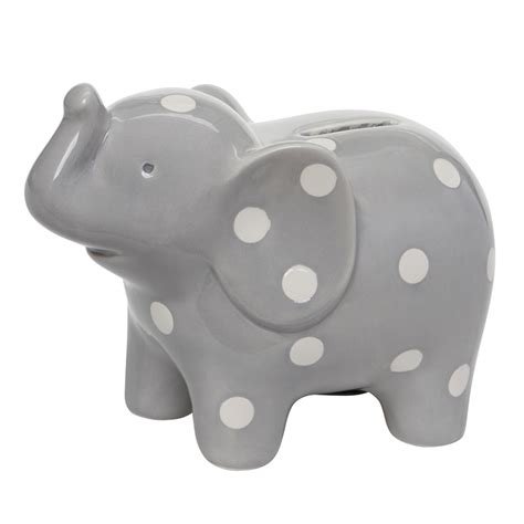 toddler piggy bank elephant ceramic piggy bank by baby