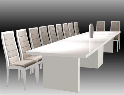 dining table dining table lacquer largo white lacquer extendable table