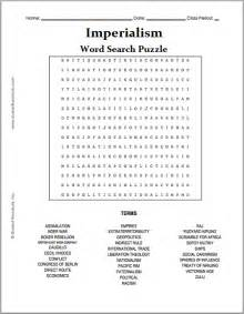 imperialism free printable word search puzzle student