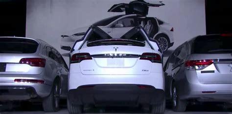 tesla x doors tesla model x falcon wing doors demo