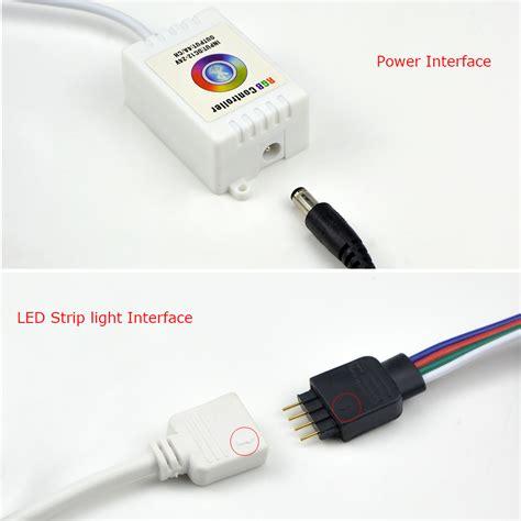 Paket Adaptor Led 5050 Rgb Remote Driver Rgb Besar for 5050 3014 rgb led light dc12 24v bluetooth led rgb controller sound app