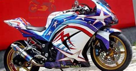 Gambar Motor Yang Bagus by Gambar Modifikasi Motor Kawasaki 250 Yang Bagus Terbaru
