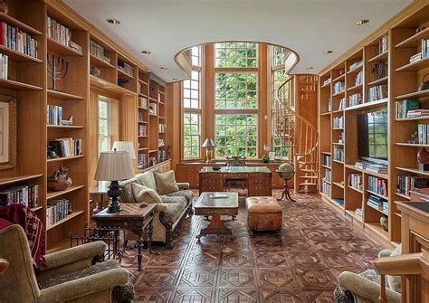 home office library design ideas home office library