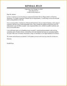 Phone Support Cover Letter by Sle Cover Letter For Customer Care Representative