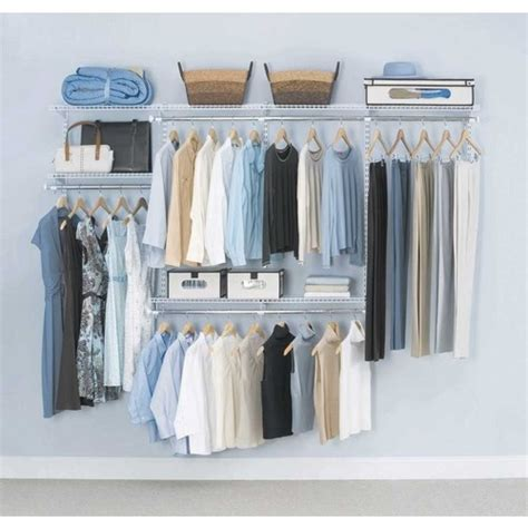 Rubbermaid Closet Rubbermaid Homefree Series 8 Ft Adjustable Mount Wire