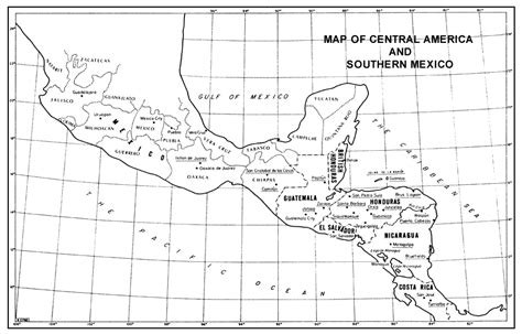 map of southern us and mexico forest genetic resources information no 1