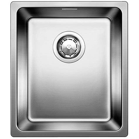 Blanco Stainless Steel Kitchen Sinks Blanco Andano 340 U Undermount Stainless Steel Kitchen Sink