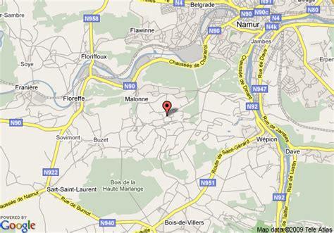 namur map map of best western hotel de lives namur