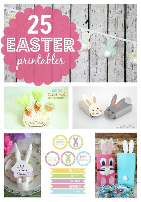 25 Free Easter Printables   Pretty My Party