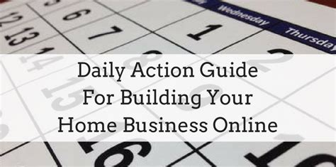 house builder online daily action guide for building your home business online