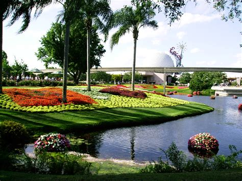 Sceneries Of Flowers Garden Flower Garden Scenery