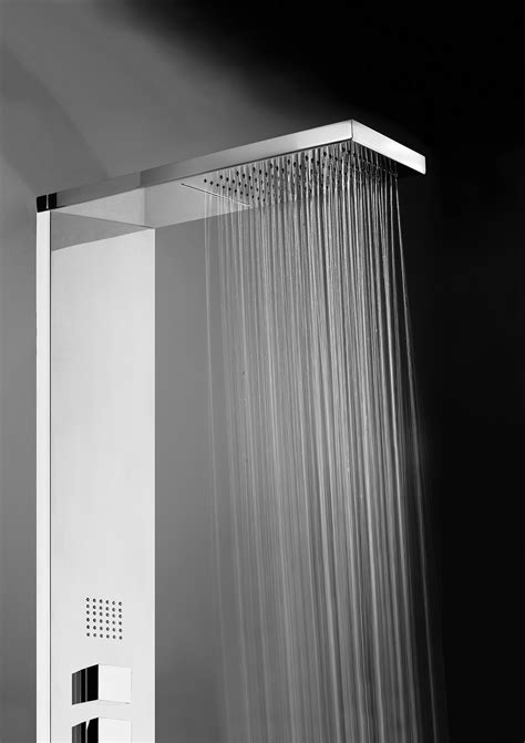 totem doccia colonne doccia manhattan panel 4 termostatico l00897