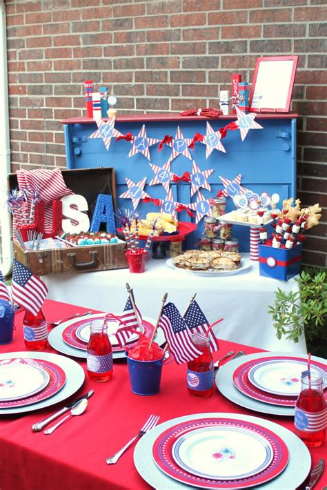 4th of july backyard party ideas 4th of july bbq