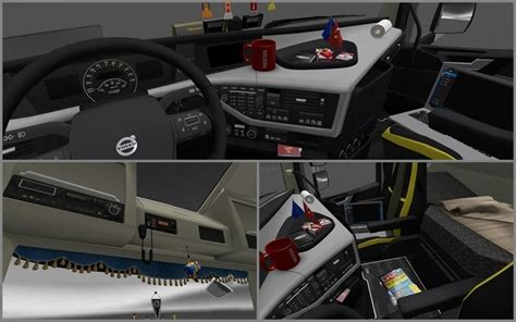 new volvo fh16 accessories interior v 2 2 187 ets 2 and
