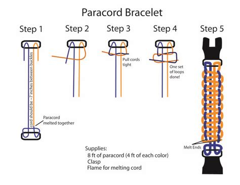 printable paracord instructions 17 best images about paracord tools and guides on