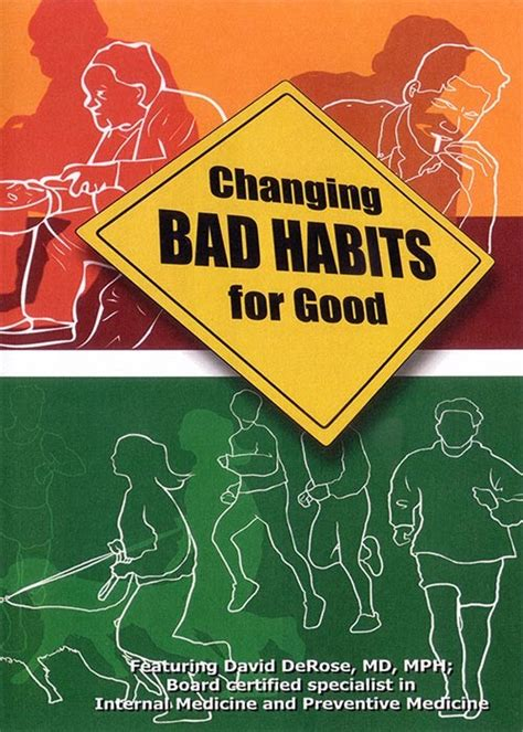 holistic fixes for your bad health habits doctor oz changing bad habits for good dvd lifestart seminars