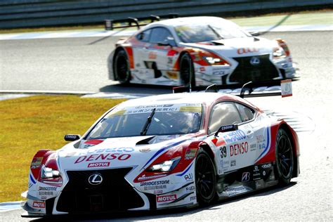 lexus racing twin podium finish for lexus rc f teams in round 3 of the