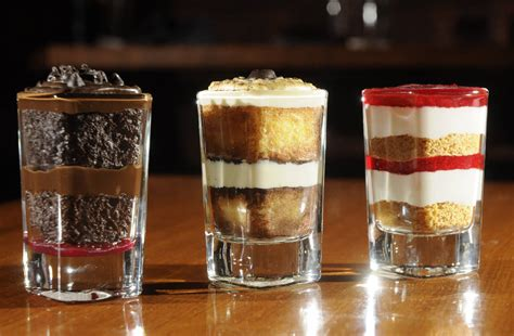 shot glass desserts new restaurant trend times free press