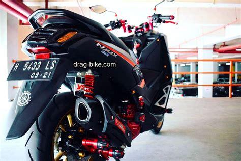 Foto Aksesoris Motor by 35 Foto Gambar Modifikasi Nmax Hitam Merah Putih Dan