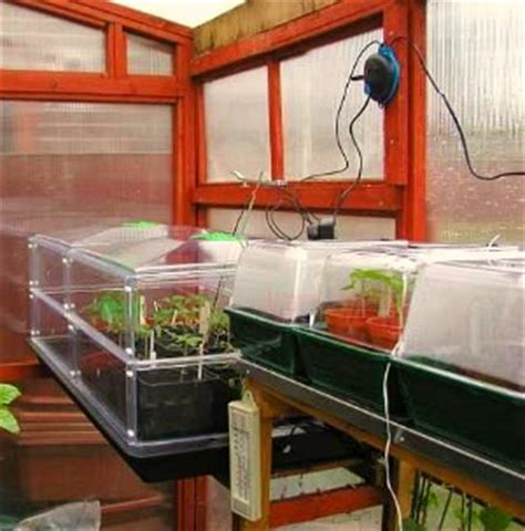 heated propagation bench greenhouse propagating benches and electric propagators
