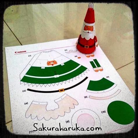 free printable christmas paper crafts sakura haruka singapore parenting and lifestyle blog