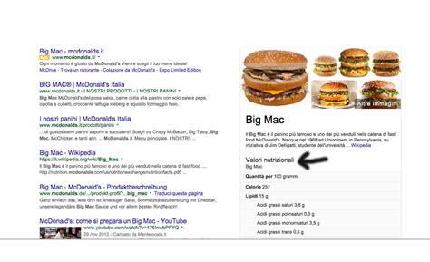 app calorie alimenti ti dice quante calorie hanno gli alimenti fast food