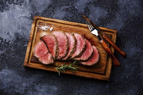 special dinner menu featuring beef tenderloin
