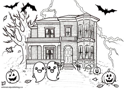 house of fun fan page free colouring pages