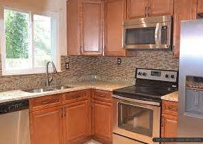 kitchen backsplash ideas with santa cecilia granite brown glass tile santa cecilia countertop