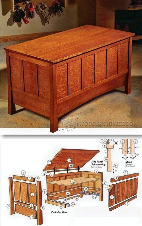 Quilt Chest Plans by 17 Best Ideas About Blanket Chest On Pallet