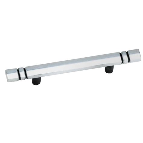 hickory hardware 3 in silver furniture bail pull