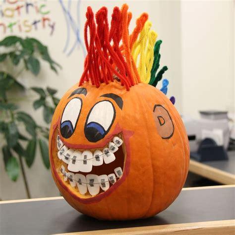 this pumpkin has braces and a mohawk halloween dentaltown magazine pinterest mohawks