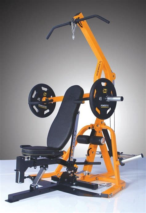 powertec fitness workbench levergym wb ls14 yellow new ebay