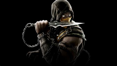 mortal kombat x wallpaper hd android scorpion mortal kombat x wallpapers hd wallpapers id