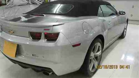 car repair manuals download 2011 chevrolet camaro transmission control purchase used 2011 chevelot camaro 2ss convertible 6 2l v8 w sfi transmission 6 speed manual