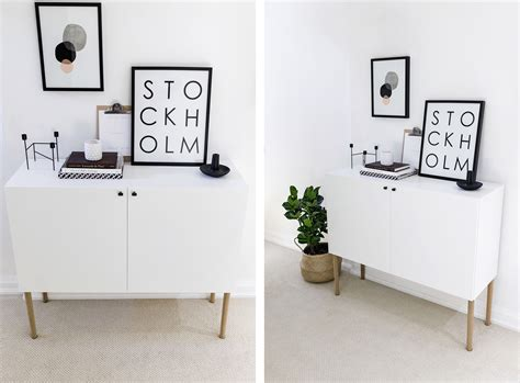 ikea besta hack scandinavian sideboard cabinet happy
