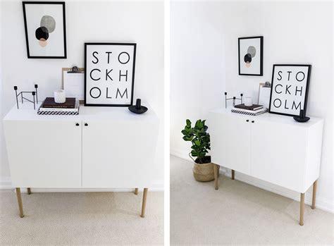 Ikea Besta Hack: Scandinavian Sideboard Cabinet   Happy