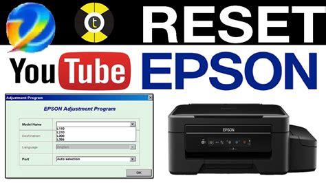 reset epson t1110 youtube reseteador impresoras epson l 2017 l contador