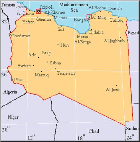 map of libya libyana libya maps in