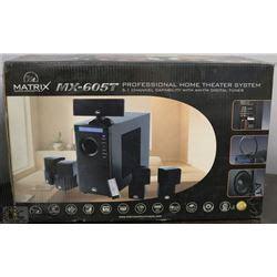 new matrix mx605t home theater system