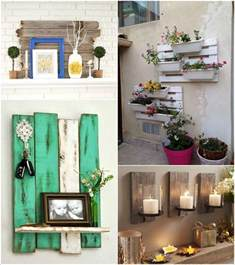 Pallet Decoration Ideas 15 Creative Wall Decor Ideas With Recycled Pallets