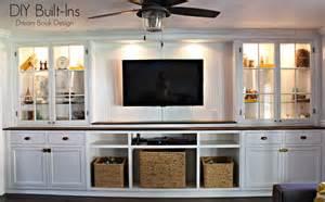 built cabinets: diy built ins dream book design
