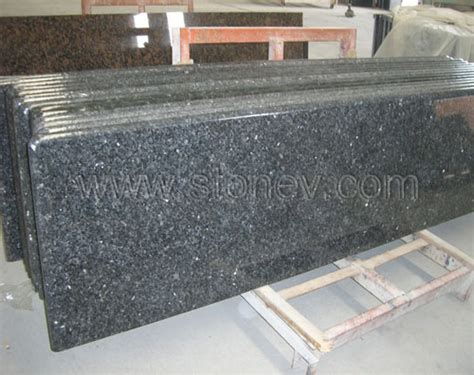 Used Granite Countertops Granite Blue Pearl Countertop