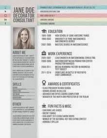 fancy cv template 1000 images about resume on creative design