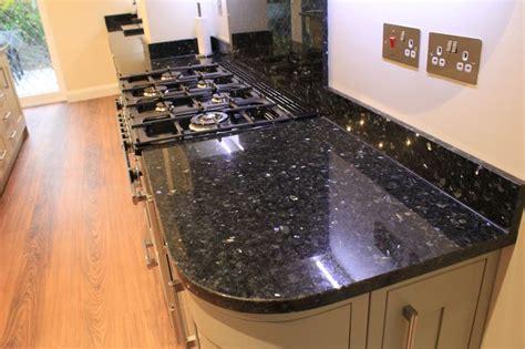 Kitchen Hob Splashback by Emerald Pearl Granite Kitchen Worktops With Upstands And