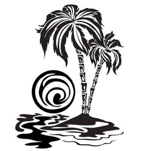 tribal palm trees tribal designs pinterest