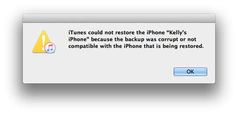 how to fix a corrupt backup in itunes