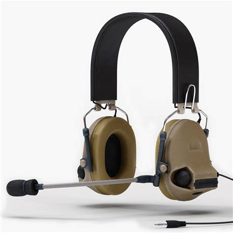 Headset Army peltor tac ii 3d model