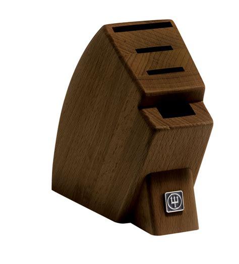 wusthof knife block walnut wusthof walnut 4 slot mobile knife block on sale