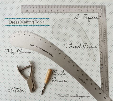 Dress Pattern Cutting Tools | charise creates dress making tools and supplies the